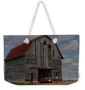 Old Wagon Older Barn Weekender Tote Bag