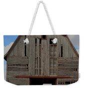Old Wagon Older Barn Panoramic Stitch Weekender Tote Bag