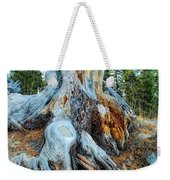 Old Warrior Weekender Tote Bag by Donna Blackhall
