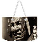 Old Warrior Weekender Tote Bag