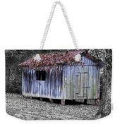 Old Weathered Shed Weekender Tote Bag