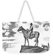Old-west-art-cowboy Weekender Tote Bag