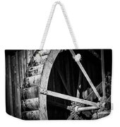 Old West Water Mill 2 Weekender Tote Bag by Darcy Michaelchuk