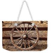 Old West Wheel Weekender Tote Bag by Kelley King