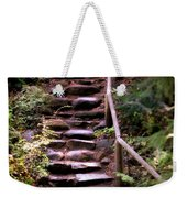 Old Wet Stone Steps Weekender Tote Bag