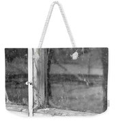 Old Window Reflection Weekender Tote Bag
