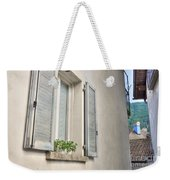 Old Window With Shutter Weekender Tote Bag