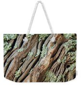 Old Wood And Lichen Weekender Tote Bag