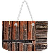 Old Wooden Wall Weekender Tote Bag