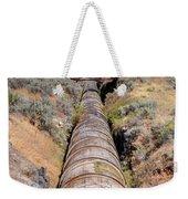Old Wooden Water Pipeline - Rural Idaho Weekender Tote Bag