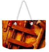 Old Worn Tools Weekender Tote Bag