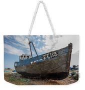 Old Wrecked Fishing Boat Weekender Tote Bag