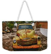 Old Yellow Truck Florida Weekender Tote Bag