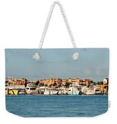 Olde Naples Seaport Weekender Tote Bag