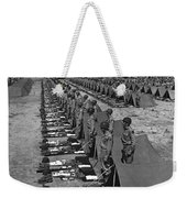 Oldiers Stand By For Inspection Weekender Tote Bag