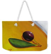 Olive In Olive Oil Weekender Tote Bag