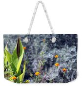 Olive Trees In The Background Weekender Tote Bag