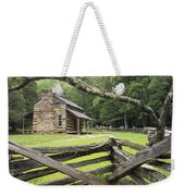 Oliver Cabin In Cade's Cove Weekender Tote Bag