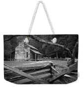 Oliver's Cabin In The Great Smokey Mountains Weekender Tote Bag