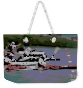 Olympic Lightweight Double Sculls Weekender Tote Bag