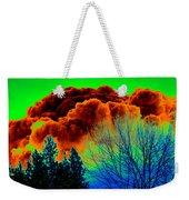 Ominous Cloudfront Weekender Tote Bag