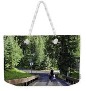 On A Country Road - Vail Weekender Tote Bag