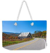 On A Roll In West Virginia Weekender Tote Bag