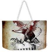 On Eagles Wings Weekender Tote Bag