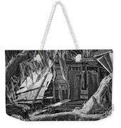 On Evergreen Platation Black And White Weekender Tote Bag