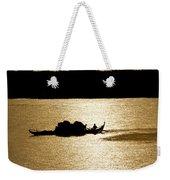 On Golden Waters Weekender Tote Bag