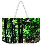 On Our Way Chasing The Eternal Flame At Chestnut Ridge Park Weekender Tote Bag
