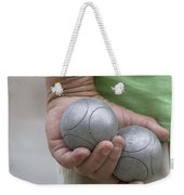 On The Boules Pitch Weekender Tote Bag