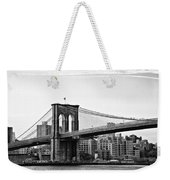 On The Brooklyn Side Weekender Tote Bag by Bill Cannon