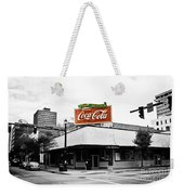 On The Corner Weekender Tote Bag by Scott Pellegrin