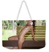 On The Fence 839 Weekender Tote Bag