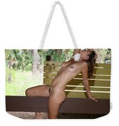 On The Fence 841 Weekender Tote Bag