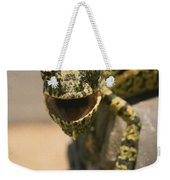 On The Heel Of A Boot A Flap-necked Weekender Tote Bag