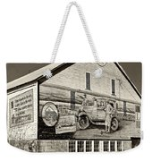 On The Lincoln Highway Sepia Weekender Tote Bag