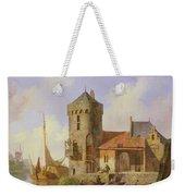 On The Rhine Weekender Tote Bag by Cornelius Springer