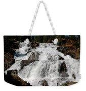 On The Rocks Glen Alpine Falls Weekender Tote Bag