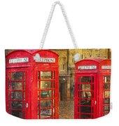 On The Streets Of Edinburgh  Weekender Tote Bag