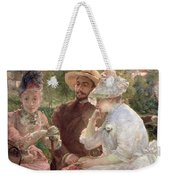 On The Terrace At Sevres Weekender Tote Bag
