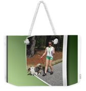 On The Trail Weekender Tote Bag by Brian Wallace