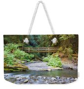 On The Trail To Marymere Weekender Tote Bag