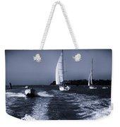 On The Water 1 - Venice Weekender Tote Bag