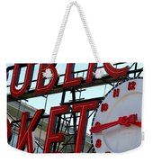 On The Wharf  Weekender Tote Bag