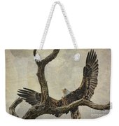 On Wings High Weekender Tote Bag