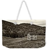 Once Upon A Mountainside Sepia Weekender Tote Bag