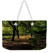 One Day In The City Park Weekender Tote Bag