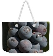 One Green Grape Stands Out In A Bunch Weekender Tote Bag